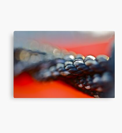 VSOP. ★★★★. Sailing rope  - abstract . Doctor Andrzej Goszcz . Canvas Print