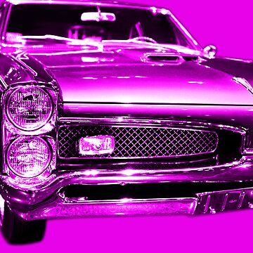 Pontiac GTO Magenta by wingtong168