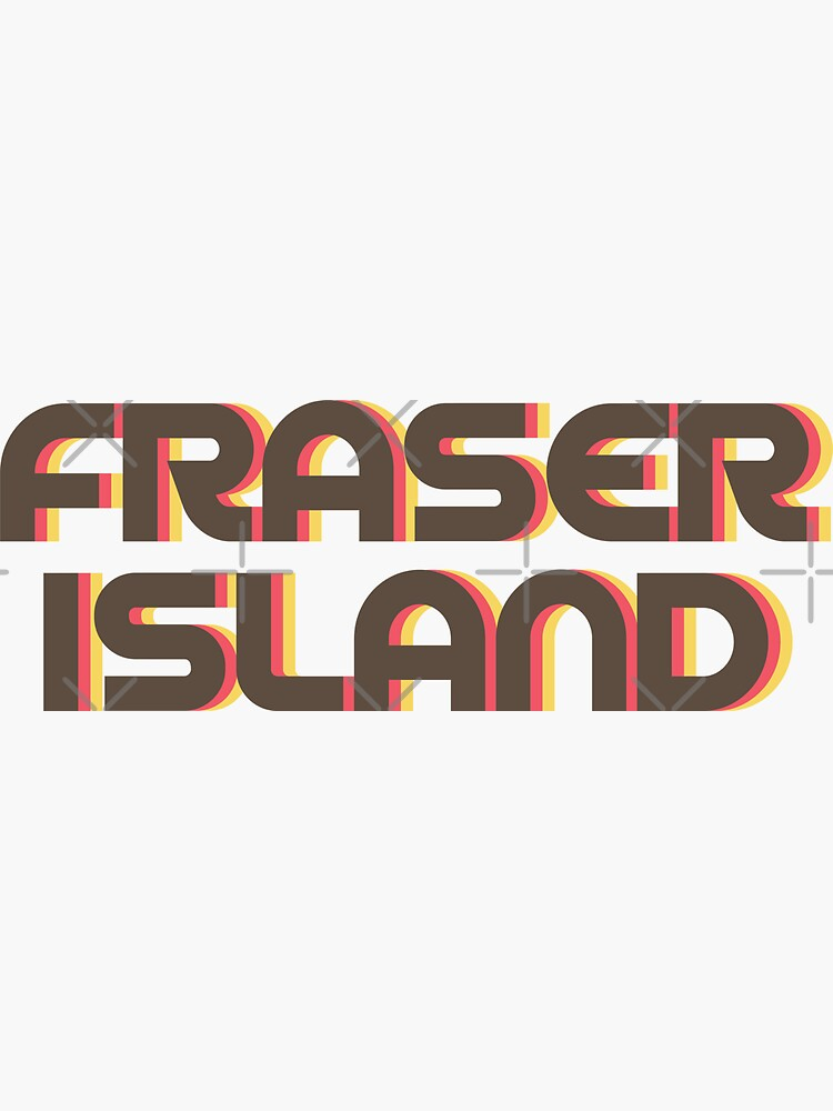 Fraser Island Retro by designkitsch