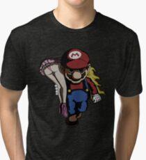 Mario Kidnap Tri-blend T-Shirt