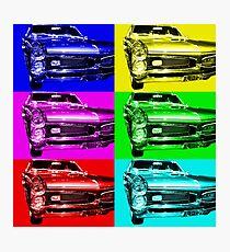 Pontiac GTO Six Photographic Print