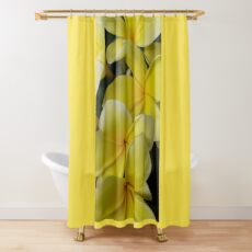 Plumaria In Full Bloom Shower Curtain