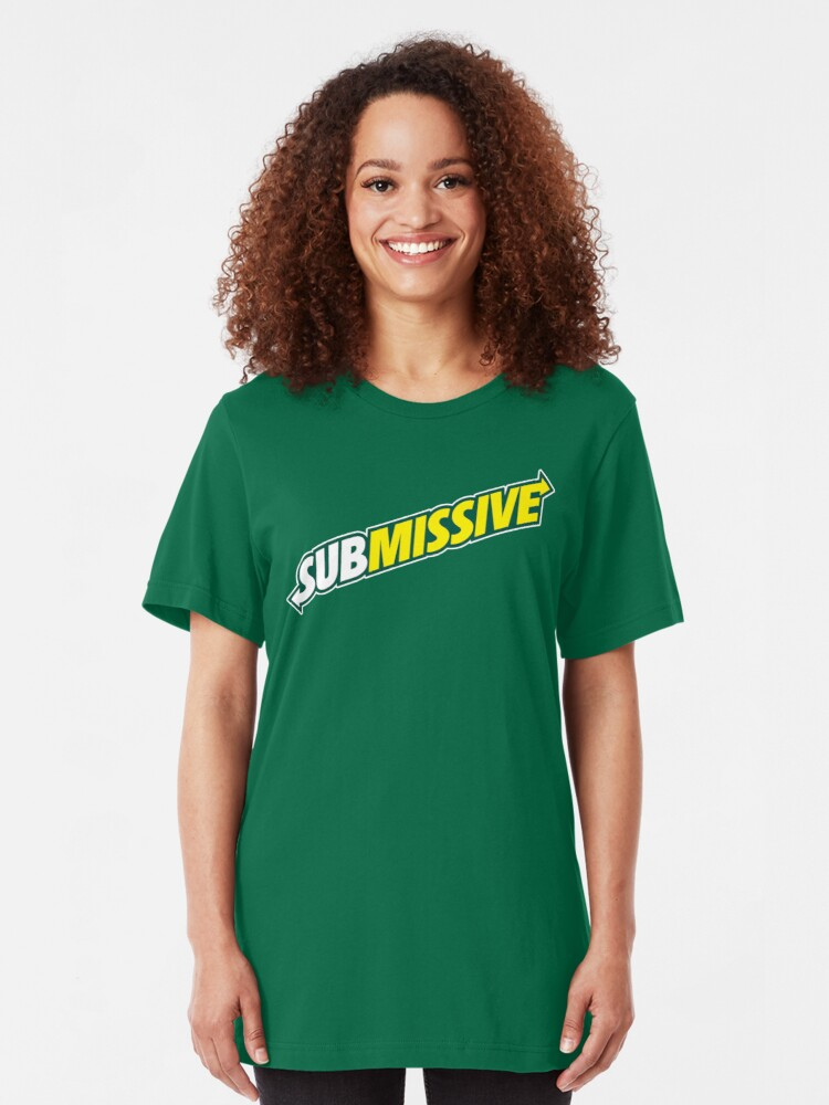 Alternate view of SUBmissive Slim Fit T-Shirt