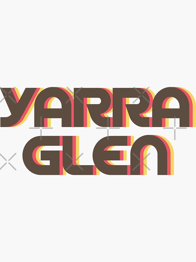 Yarra Glen Retro by designkitsch
