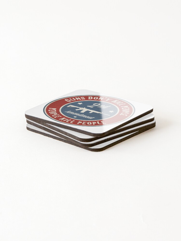 Alternate view of Second Amendment Coasters (Set of 4)