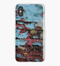peeling bench iPhone Case/Skin