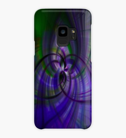 Purple and Green Case/Skin for Samsung Galaxy