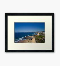 Bar Beach View Framed Print