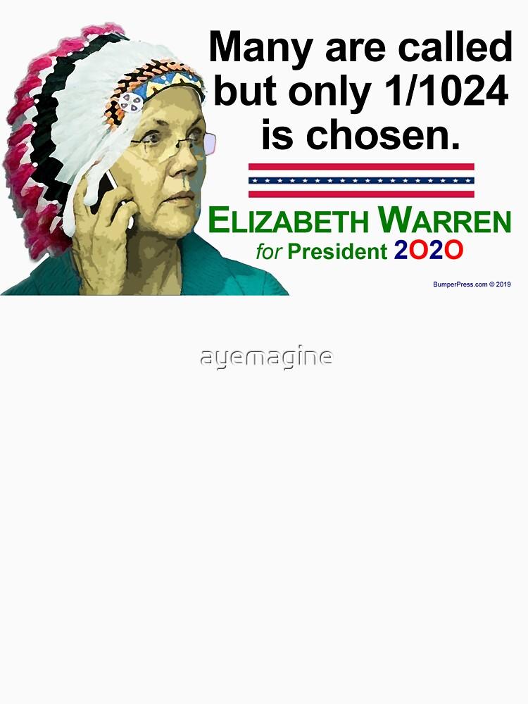 Elizabeth Warren 2020 by ayemagine