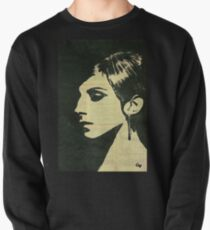 Barbra Streisand. Pullover Sweatshirt