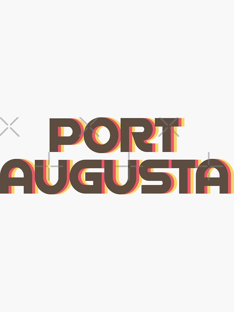 Port Augusta Retro by designkitsch