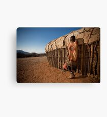 Samburu Boy Canvas Print