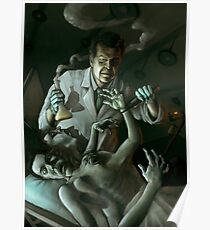 Walter Bishop and the Patient Poster