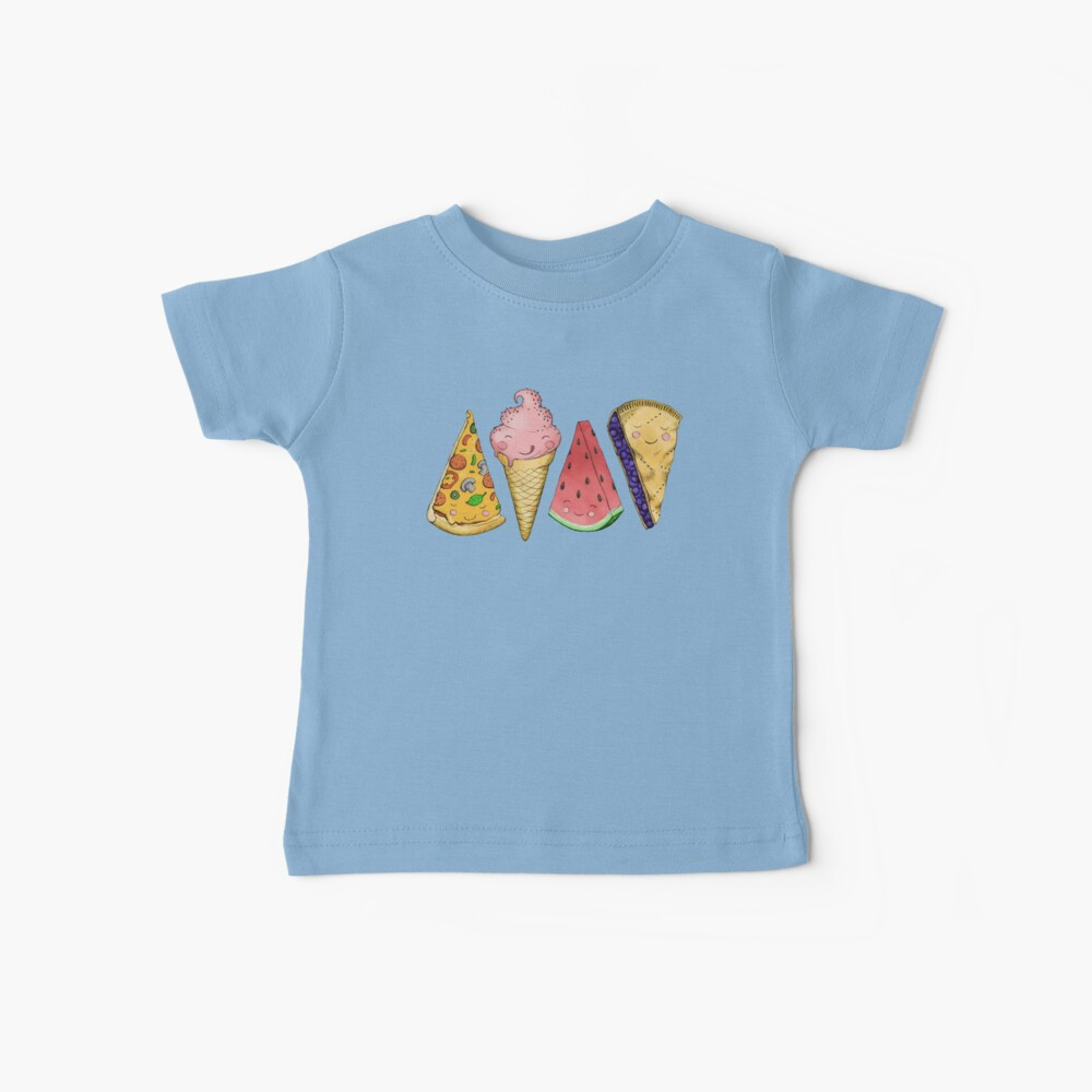 Happy Picnic Triangles Baby T-Shirt