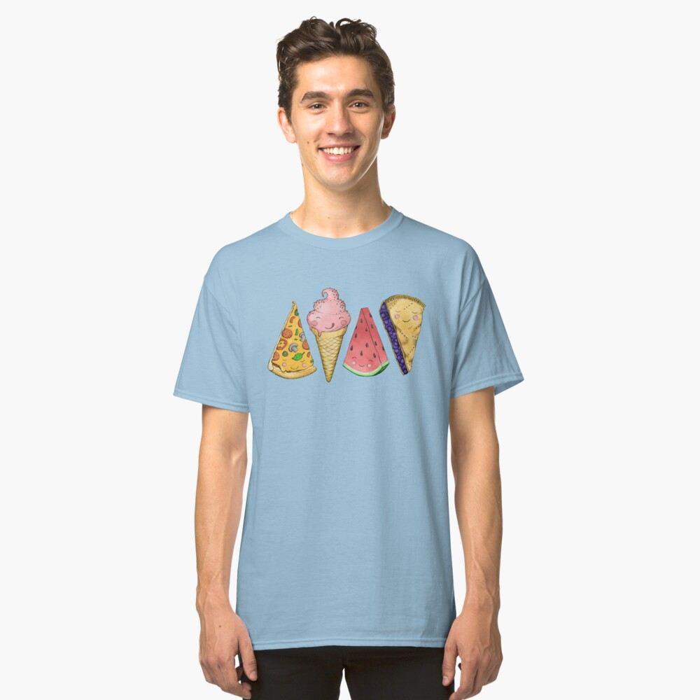 Happy Picnic Triangles Classic T-Shirt