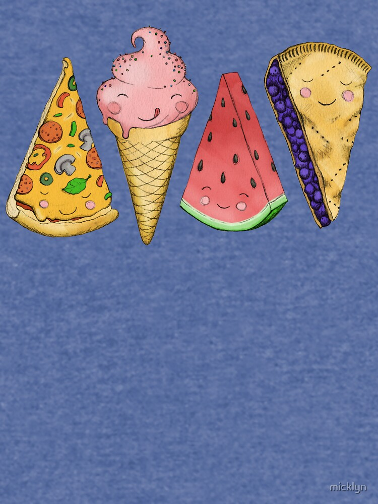 Happy Picnic Triangles by micklyn