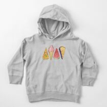 Happy Picnic Triangles Toddler Pullover Hoodie