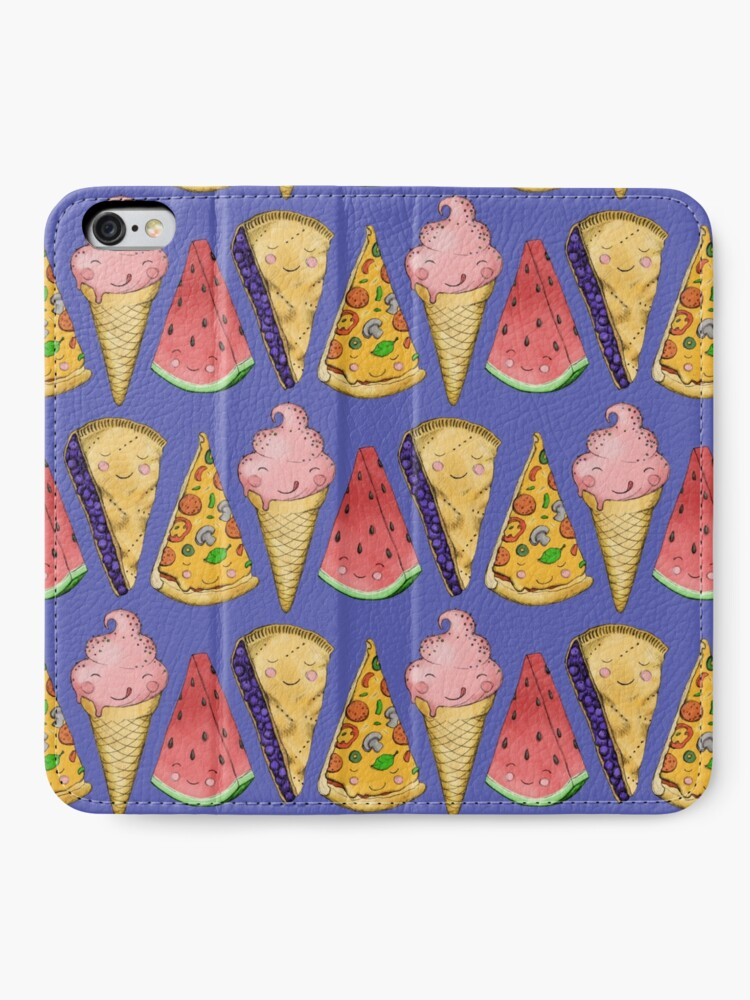Alternate view of Happy Picnic Triangles iPhone Wallet