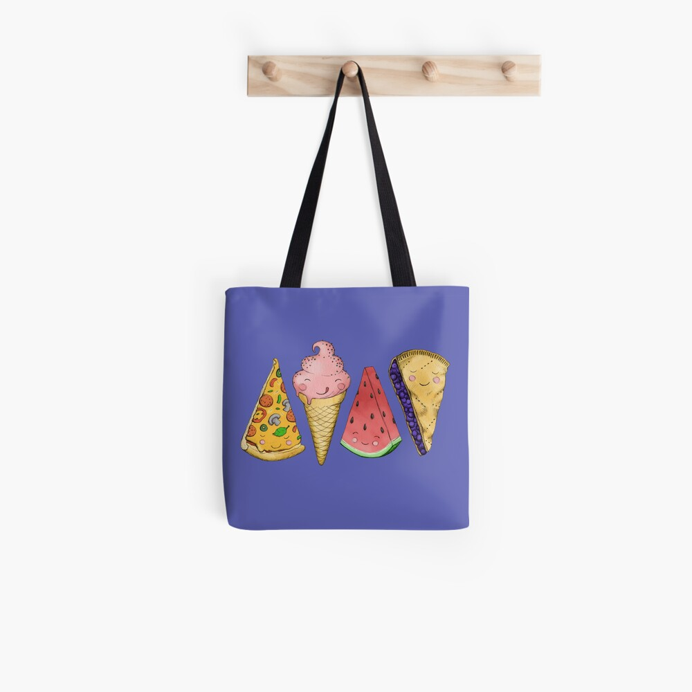 Happy Picnic Triangles Tote Bag