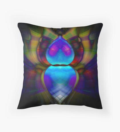Bohemian Beetle Throw Pillow