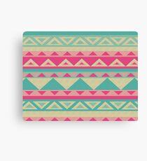 Cool fun triangle pattern  Canvas Print