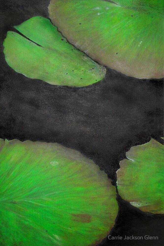 Lily Pads, Series by Carrie Jackson