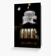 California State Capital Greeting Card