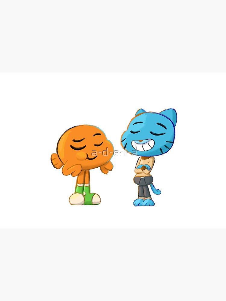 Gumball and Darwin by a-d-e-l-a