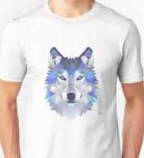 Geometric Wolf Slim Fit T-Shirt