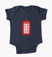 Cartoon Telephone Box Kids Clothes