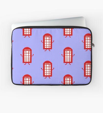 Cartoon Telephone Box Laptop Sleeve
