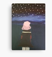 Lars and the Stars Canvas Print
