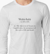 Wabi-Sabi Long Sleeve T-Shirt