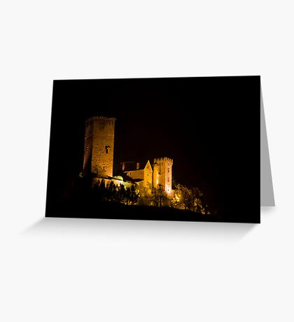 Chateau de Saint Laurent-Les-Tours Greeting Card