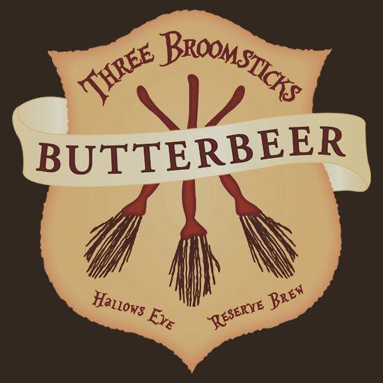 Harry Potter Butterbeer Logo Butterbeer: Stickers |...