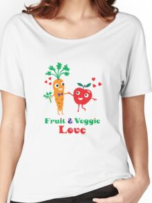 Fruit and Veggie Love Women's Relaxed Fit T-Shirt