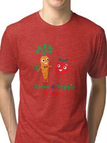 Fruit and Veggie Love Tri-blend T-Shirt