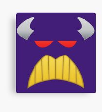 The Evil Emperor Face Canvas Print