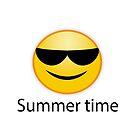 summer time. Beste Zeit im Jahr Sommer von Shirtbutler