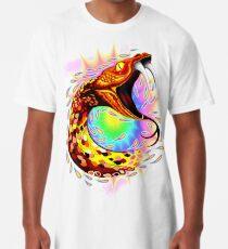 Snake Attack Psychedelic Surreal Art Long T-Shirt