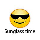 sunglass time. Sonnenbrille an, zum Strand bitte von Shirtbutler