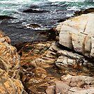 Rocks - Point Judith by Frank Bibbins