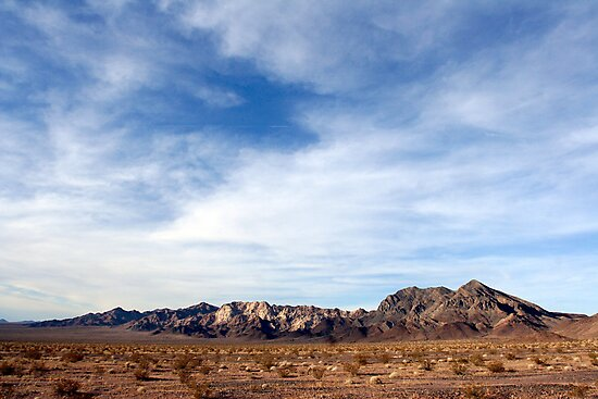 Marble Mountains, Cadiz, California by Chris Clarke