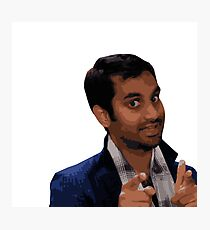 Tom Haverford Photographic Print