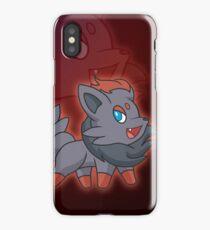 Charcoal Fox iPhone Case/Skin