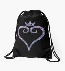 The Kingdom Hearts Heart Drawstring Bag