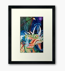 Zoe Dragon Framed Print