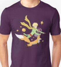 The Little Prince - Flight Through Space  Unisex T-Shirt