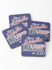 2020 Adorable Deplorable | TRUMP SUPPORTER  Coasters