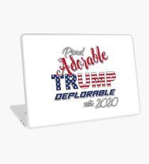 2020 Adorable Deplorable   TRUMP SUPPORTER  Laptop Skin